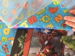China motion 3d lenticular soft PVC fabric sheets printing for handbags shoes and garments accessories United States supplier
