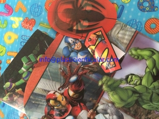 China PLASTIC LENTICULAR special effects and coatings 3d printing flip lenticular fabric with tpu pvc plastics supplier