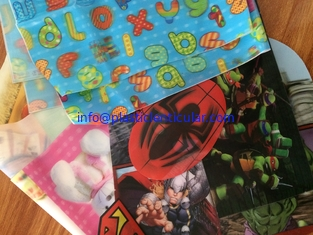 China PLASTIC LENTICULAR soft lenticular sheeting printing clothing tpu 3d lenticular fabric clothing supplier