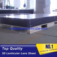 China 25 lpi lenticular sheet 3d PS lenses-large format lenticular plastics lens-1.2*2.4M standard lenticular board panel supplier