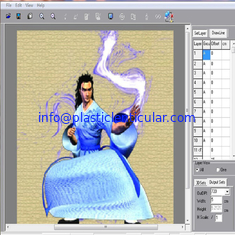 China PLASTICLENTICULAR 3d lenticular photo design software for Lenticular Print and Interlacing for Lenses supplier