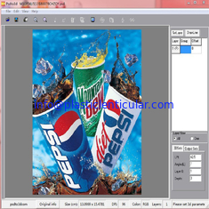 China PLASTIC LENTICULAR 3d printing design advanced lenticular software 3D Photo Magic Lenticular Software supplier