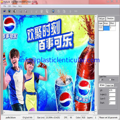 China PLASTICLENTICULAR flip lenticular printing software for 3d lenticular inkjet printer supplier
