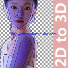 China PLASTIC LENTICULAR 3d lenticular interlacing software lenticular printing software supplier