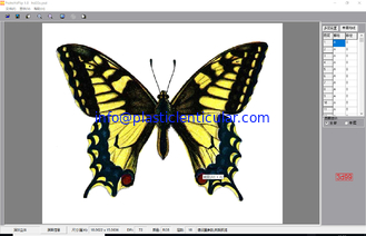 China PLASTIC LENTICULAR butterfly 360 degree 3d and animation effect lenticular photo image software supplier