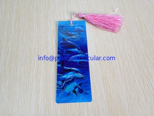 China PLASTIC LENTICULAR 3d lenticular printing souvenir bookmark-plastic pp 3d offset printed lenticular 3D animal bookmark supplier