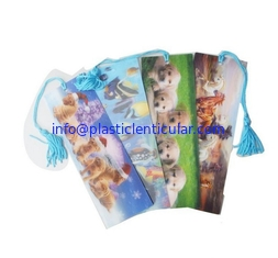 China PLASTIC LENTICULAR cartoon pvc 3d lenticular bookmarks plastic flip lenticular sheet printing products wholesales supplier