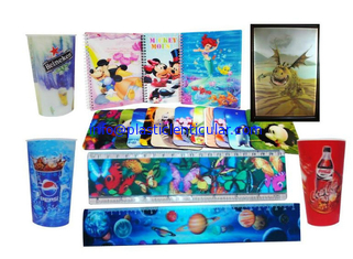 China PLASTICLENTICULAR 3d lenticular ruler printing animation magic change scaling flip 3d zoom morphing ruler printing supplier