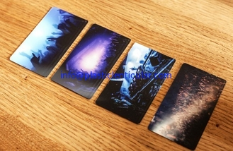China PLASTICLENTICULAR PET 3D Lenticular Plastic Printing moving cards by 3d offset printer supplier