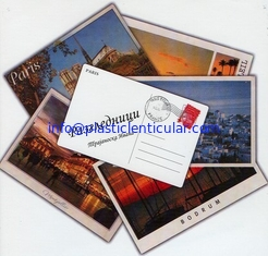 China PLASTICLENTICULAR custom lenticular postcards changing flip lenticular postcard pricing 3d lenticular postcards supplier