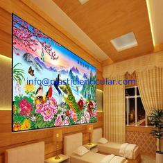 China PLASTICLENTICULAR 3d lenticular pictures motion 3d wallpaper large format 3d decor painting flip 3d lenticular prints supplier
