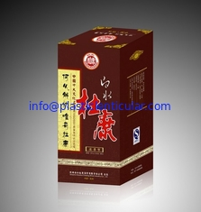 China PLASTICLENTICULAR high quality changing flip 3d lenticular packaging box for cosmetic and red wine supplier