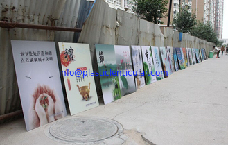 China PLASTICLENTICULAR pp pet ps 3d gift and craft manufacturer lenticular 3d picture with frame supplier