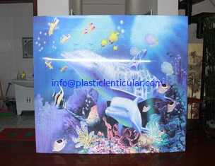 China PLASTICLENTICULAR wholesale 3d lenticular picture make with lenticular sheet material supplier
