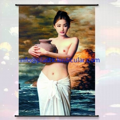 China PLASTICLENTICULAR 3d Depth effect lenticular wall hanging picture With Custom Design For Painting And Printing supplier