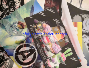 China PLASTIC LENTICULAR Custom printing soft TPU 3d lenticular flip fabrics for bag/suitcases/t-shirt/Luggage Cases supplier