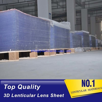 PLASTIC LENTICULAR 40 LPI 3D Lenticular Sheet 1.2*2.4m 2mm PS Lenticular Lens for inkjet printer and uv flatbed printer