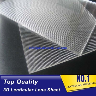 PLASTICLENTICULAR Large Format Lenticular Panels 30 LPI 3D Moving Effect Lenticular Lens Sheet Boards