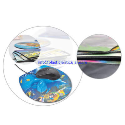 PLASTICLENTICULAR 3d custom printed mouse pads PP PET 3d breast mouse pad printing