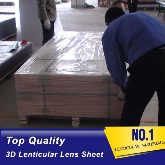 PLASTICLENTICULAR 40 LPI lenticular lenses materical 3d plastic sheet wholesale ps 2mm lenticular lens sheet plastic