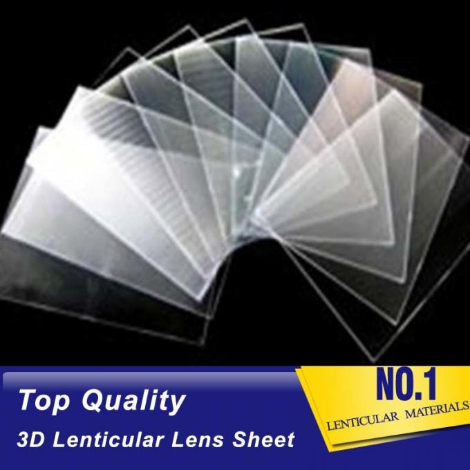 PLASTIC LENTICULAR Plastic PS/PET Material 100 Lpi 3D Film Lenticular Lens Sheet Matericals With High Transparency
