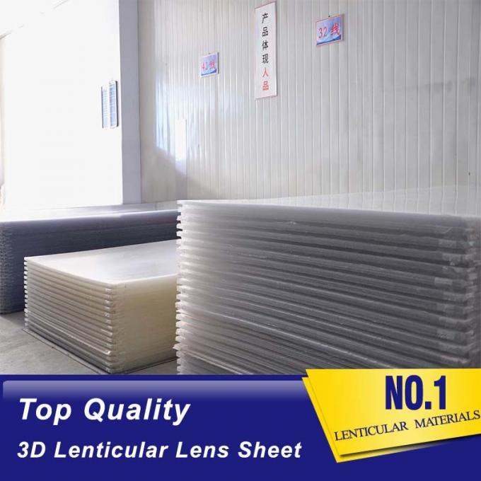 PLASTIC LENTICULAR different lpi Lenticular sheet china 50lpi pet clear plastic lens 3d sheets for sale